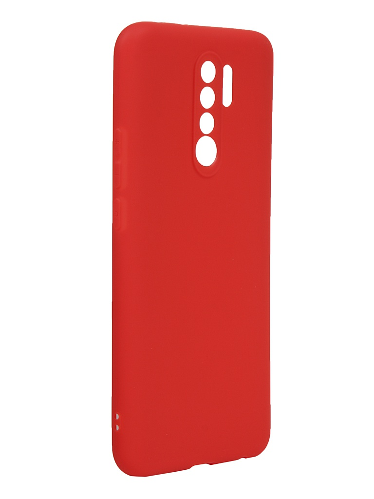Чехол Neypo для Xiaomi Redmi 9 Silicone Soft Matte Red NST17847