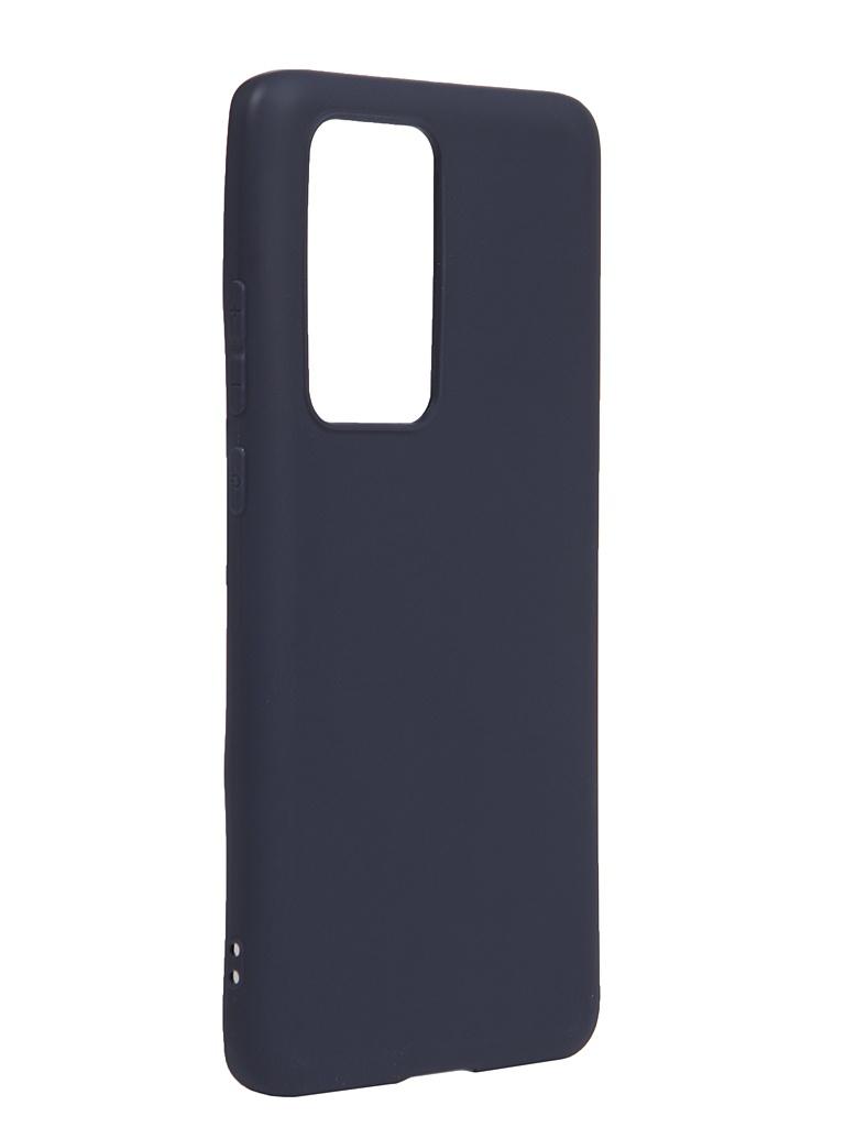 Чехол Neypo для Huawei P40 Pro Silicone Soft Matte Dark Blue NST17149