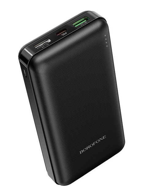 Внешний аккумулятор Borofone Power Bank BT26A Super 20000mAh Black 0L-00044799