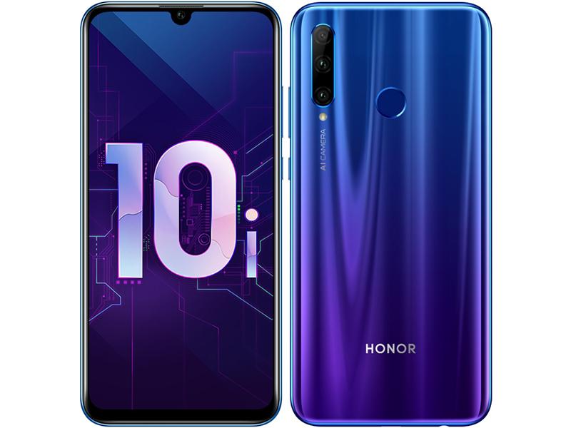 Сотовый телефон Honor 10i 6/128Gb Phantom Blue