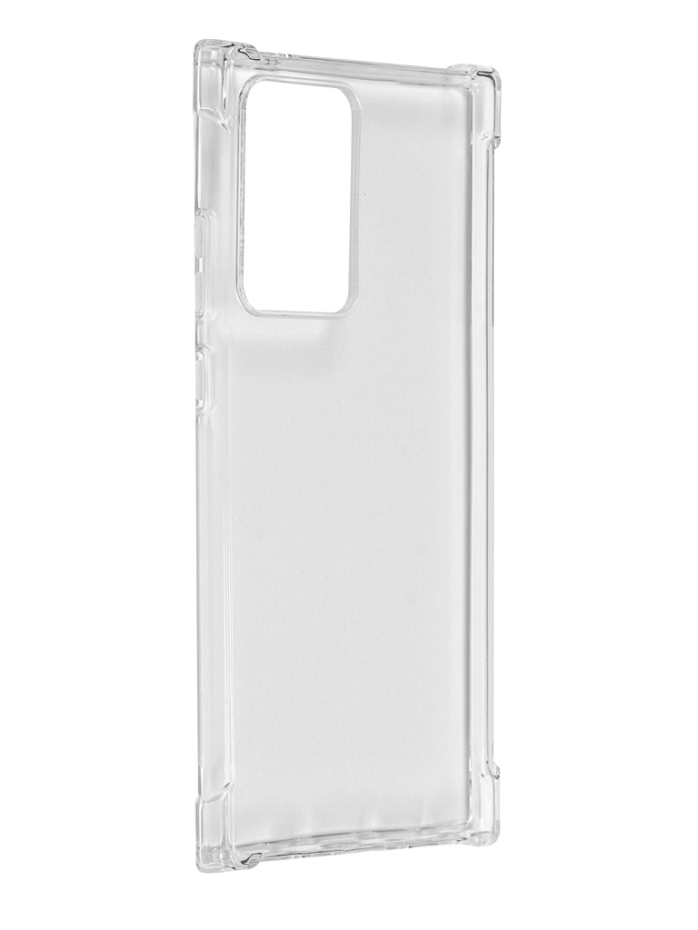 Чехол Brosco для Samsung Galaxy Note 20 Ultra TPU Transparent SS-N20U-HARD-TPU-TRANSPARENT