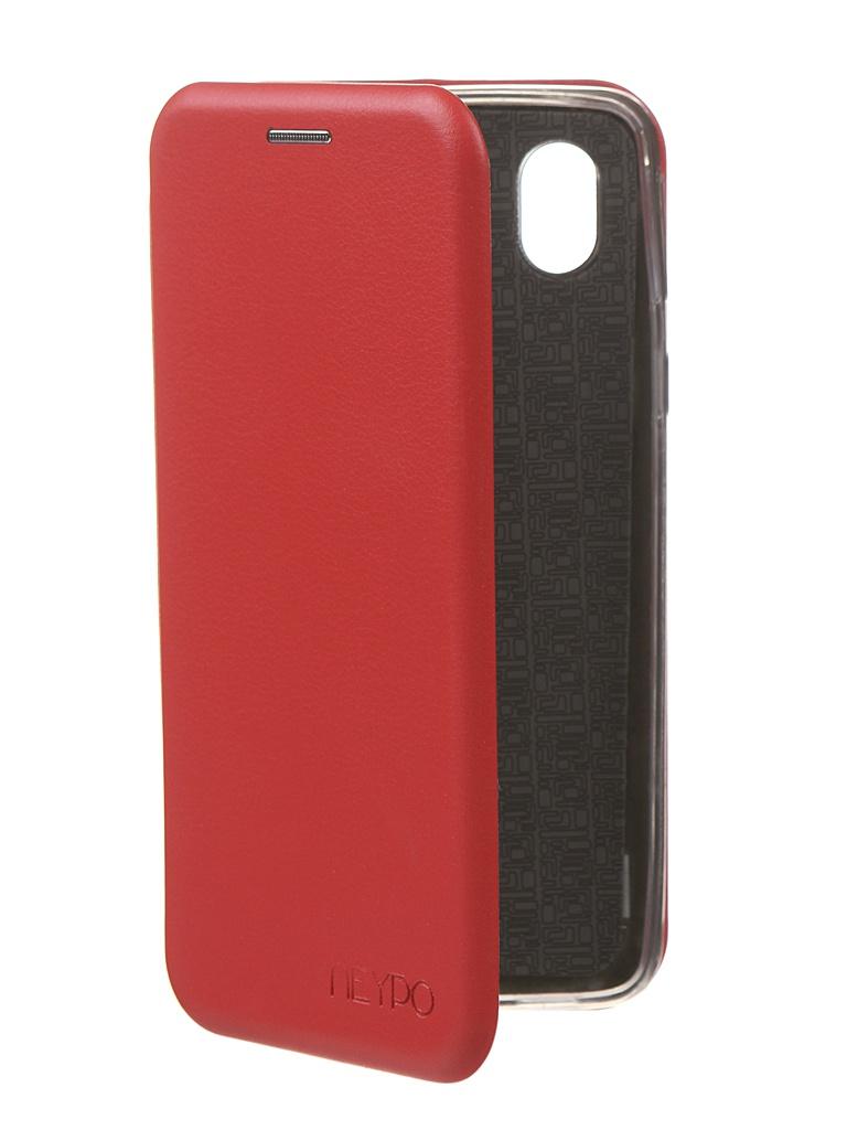 Чехол Neypo для Samsung A01 Core 2020 Premium Red NSB18575