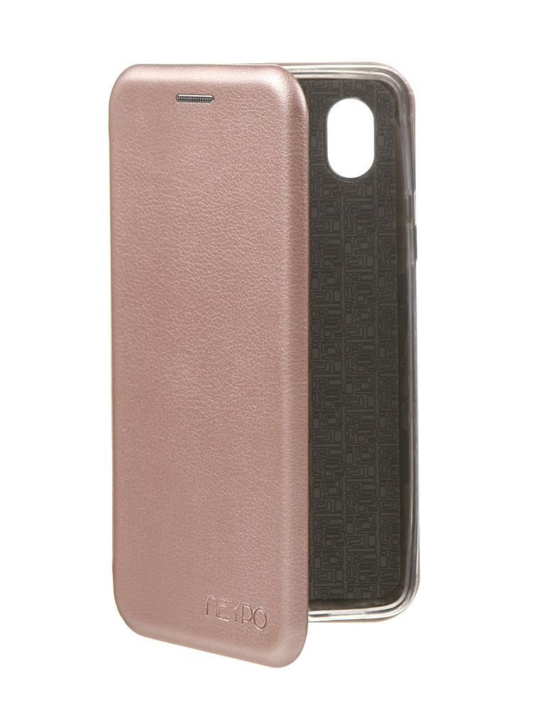 Чехол Neypo Premium для Samsung A01 Core 2020 Rose Gold NSB18576