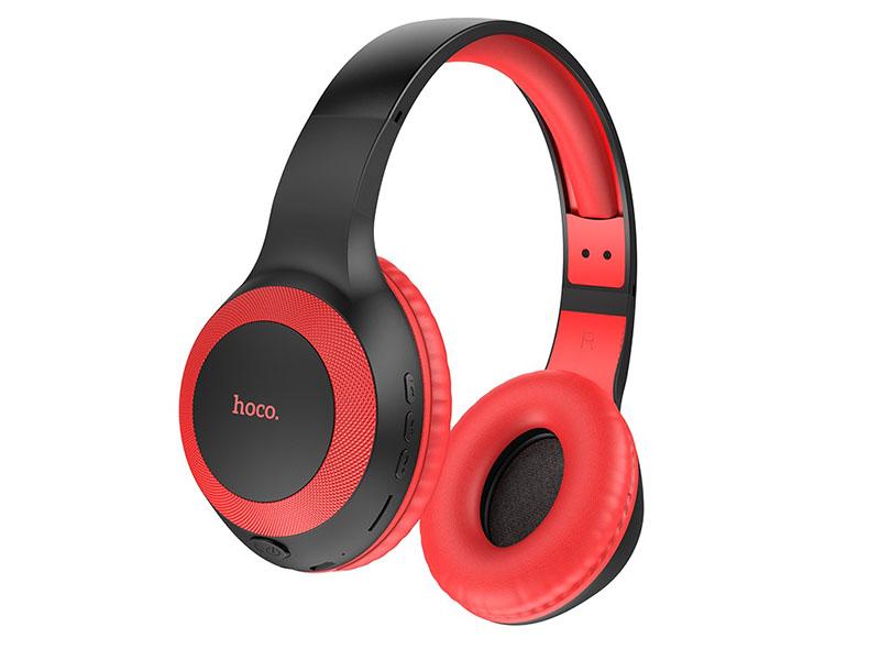 Наушники Hoco W29 Outstanding Wireless Black-Red 0L-00049106