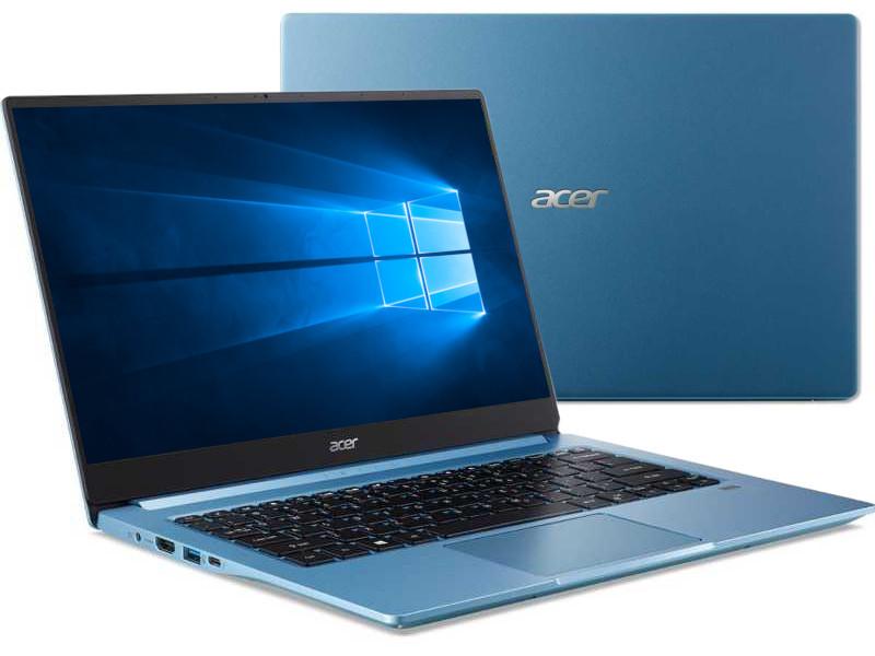 Ноутбук Acer Swift SF314-57-519E NX.HJHER.004 (Intel Core i3-1005G1 1.2GHz/8192Mb/256Gb SSD/Intel UHD Graphics/Wi-Fi/Bluetooth/Cam/14.0/1920x1080/Windows 10 64-bit) ноутбук hp pavilion 14 ce2001ur intel core i3 8145u 2100 mhz 14 1920x1080 4gb 128gb ssd no dvd intel uhd graphics 620 wi fi bluetooth windows 10