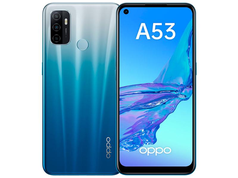 Сотовый телефон OPPO A53 4/64GB Blue