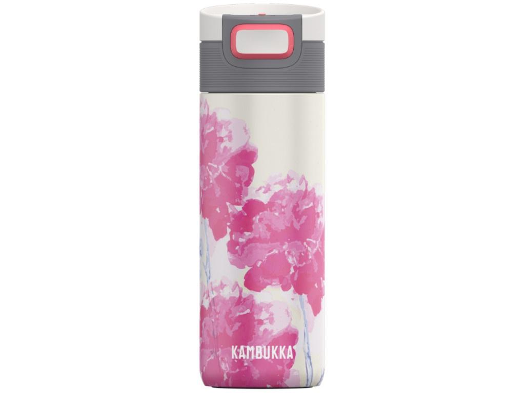Термокружка Kambukka Etna 500ml Pink Flower 11-01020