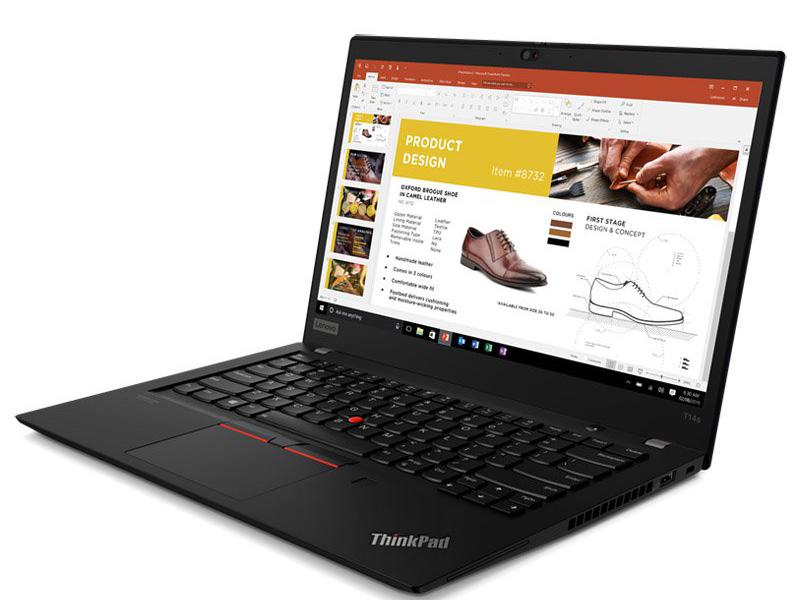 Ноутбук Lenovo ThinkPad T14s G1 T 20UH0019RT (AMD Ryzen 5 Pro 4650U 2.1GHz/16384Mb/256Gb SSD/AMD Radeon Graphics/Wi-Fi/Bluetooth/Cam/14/1920x1080/Windows 10 64-bit)
