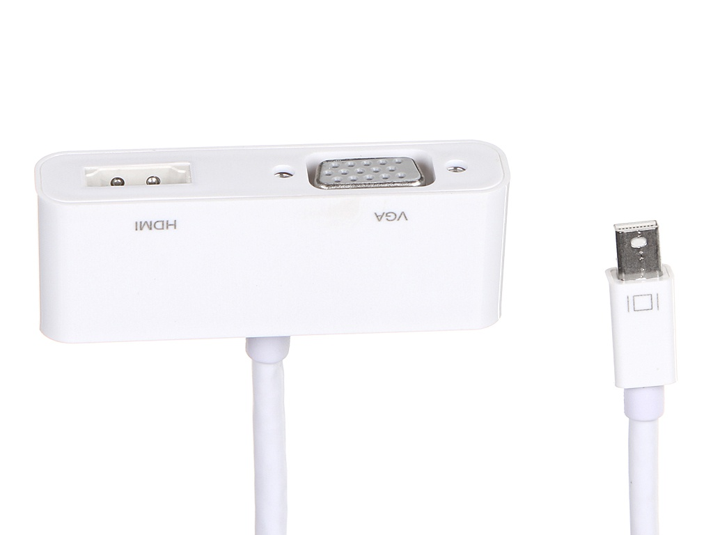 Хаб USB Palmexx 2в1 Mini DisplayPort - HDMI+VGA PX/HUB-071