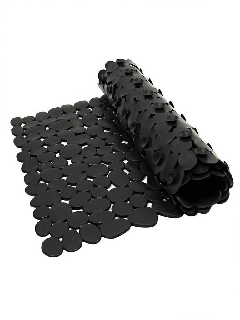 Коврик Bath Plus Камешки 70x36cm Black