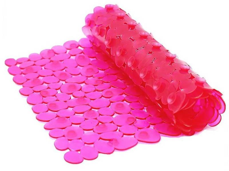 Коврик Bath Plus Камешки 70x36cm Pink