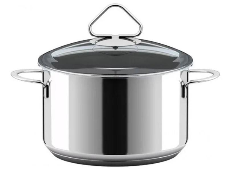 посуда Кастрюля ВСМПО-Посуда Гурман-Стекло 2.5L 220325