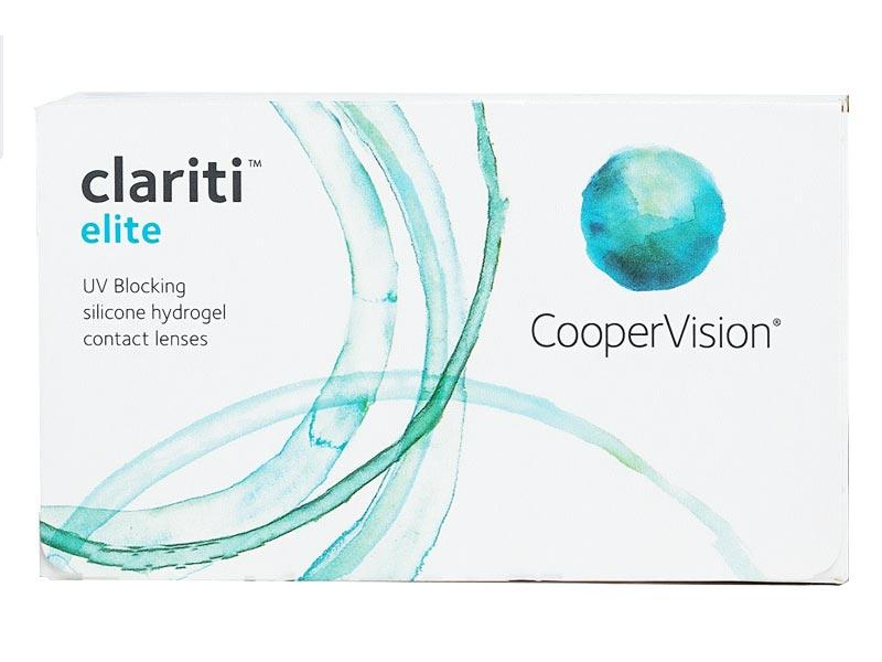 Контактные линзы CooperVision Clariti Elite (6 линз / 8.6 -5)