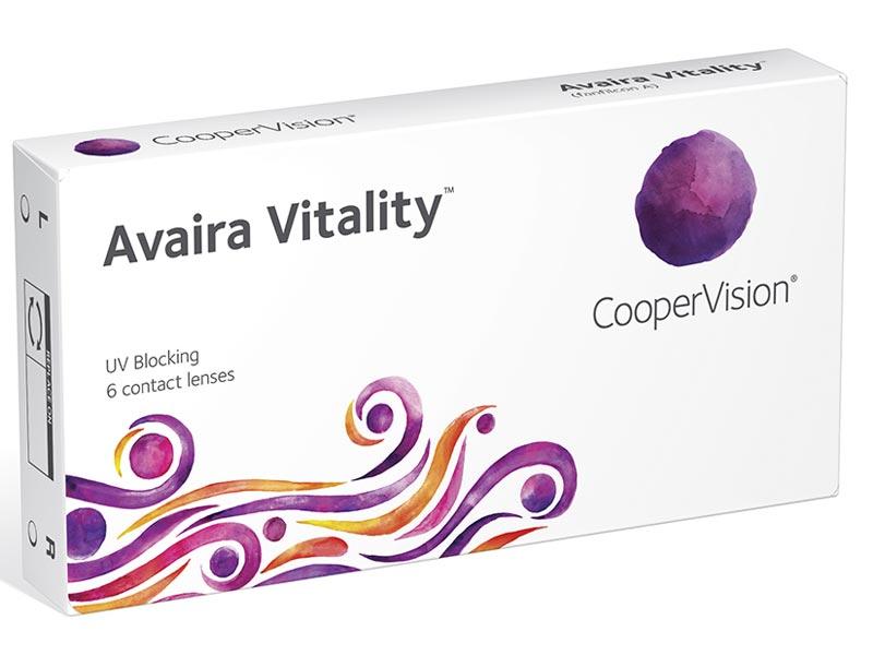 Контактные линзы CooperVision Avaira Vitality (6 линз / 8.4 / -2.5)