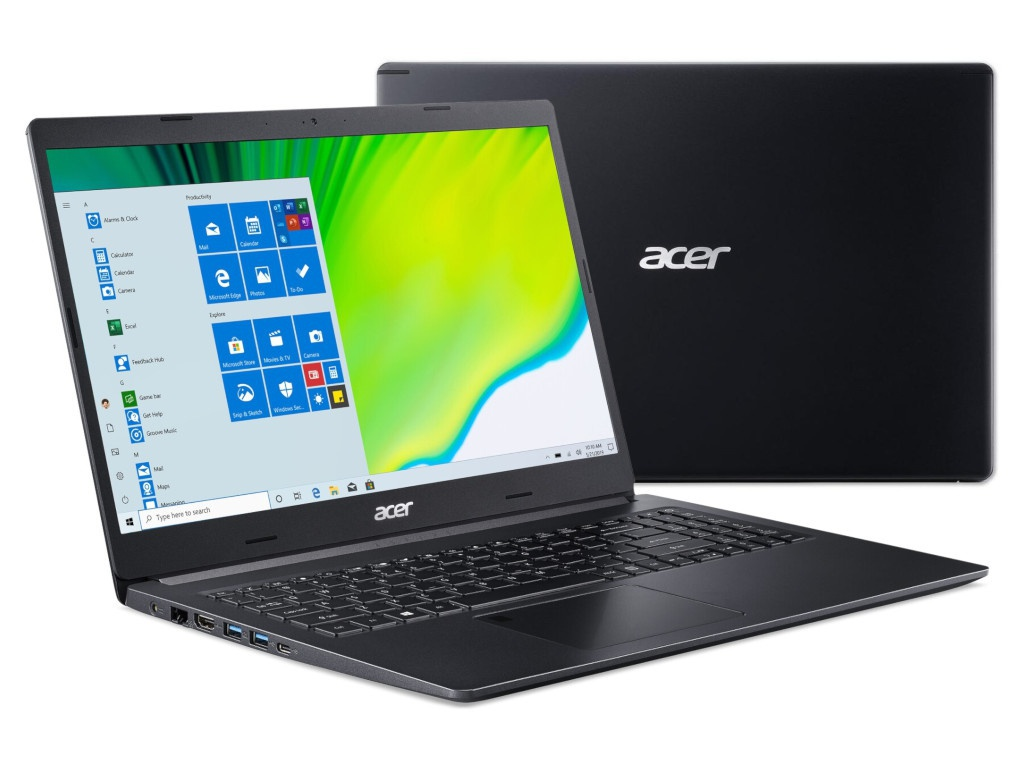 Ноутбук Acer Aspire A515-44-R1UH NX.HW3ER.00H (AMD Ryzen 5 4500U 2.3 GHz/8192Mb/1024Gb SSD/AMD Radeon Graphics/Wi-Fi/Bluetooth/Cam/15.6/1920x1080/Windows 10 Home 64-bit)