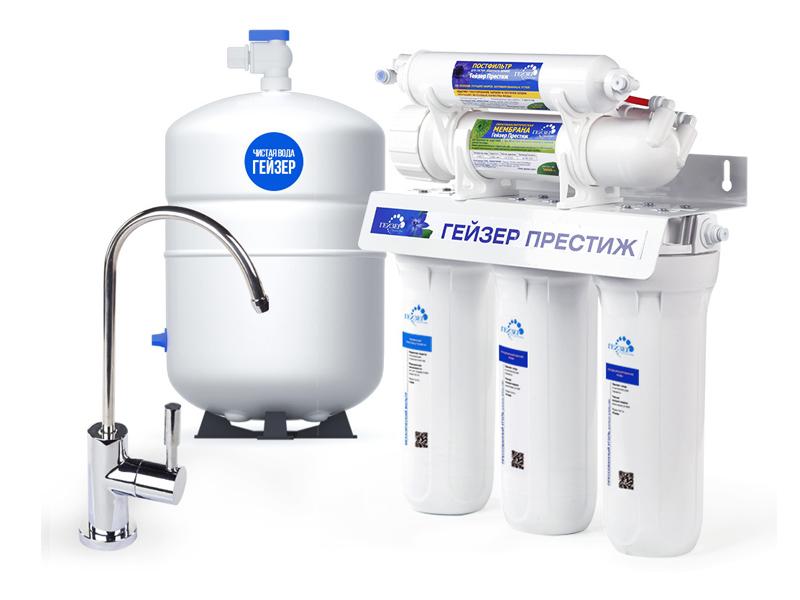 Фильтр для воды Гейзер Престиж Кран 6 20001