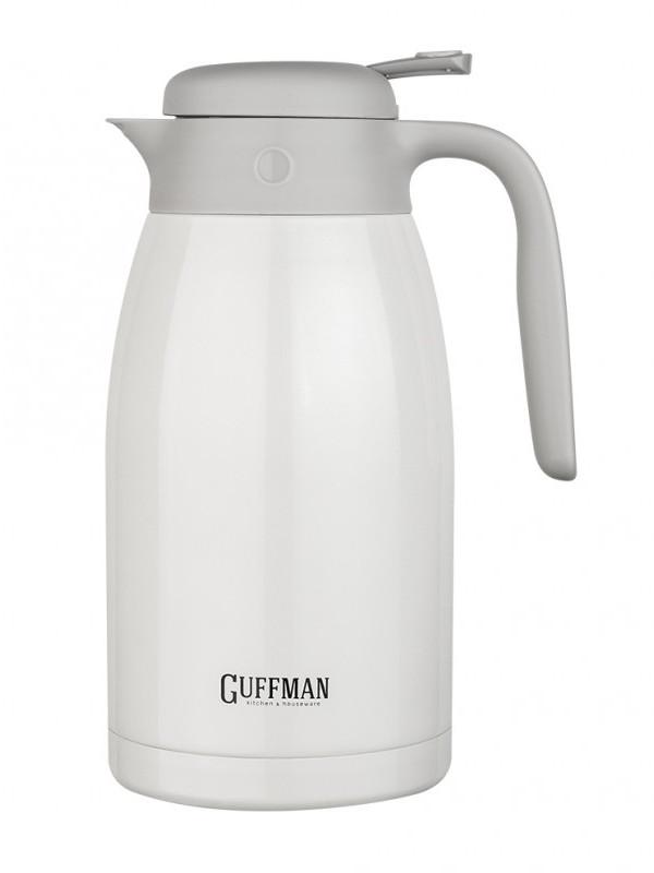 Кофейник Guffman 2L White Pearl N07-027W