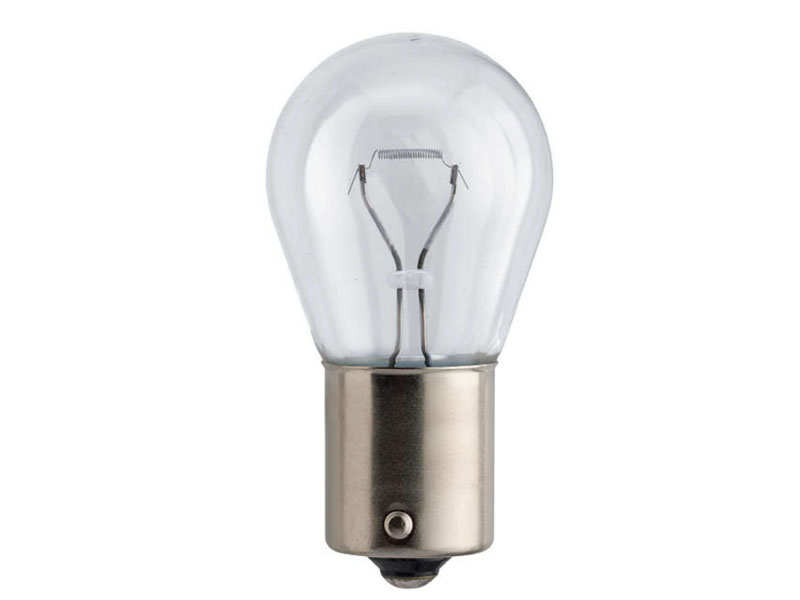 Лампа Philips LongLife Eco Vision P21W BA15s 12V-21W 12498LLECOB2 (2 штуки)