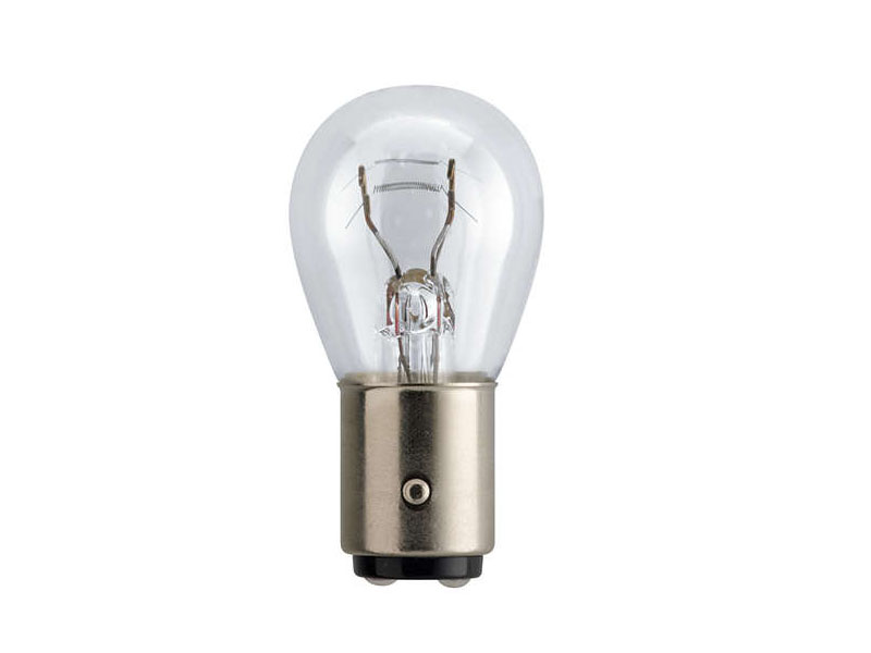 Лампа Philips P21/5W BAY15d 12V-21/5W 12499B2 (2 штуки) лампа philips longlife ecovision p21 5w bay15d 12v 21 5w 12499llecob2 2 штуки