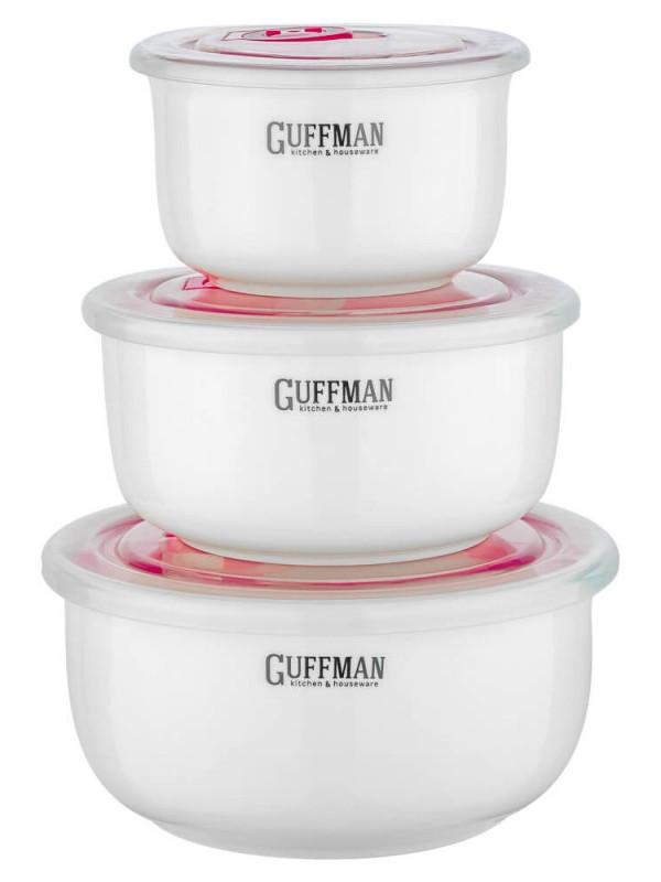 Набор контейнеров Guffman Ceramics 3шт C-06-024-W