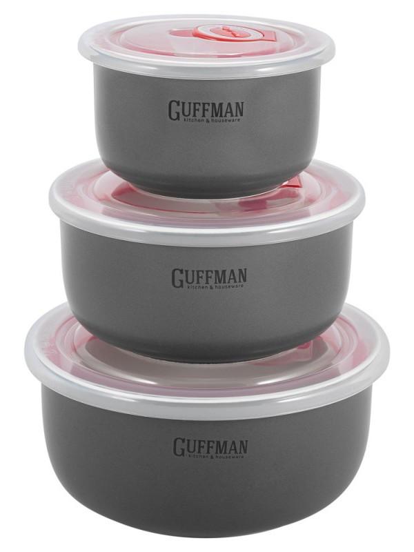 Набор контейнеров Guffman Ceramics 3шт C-06-032-GR