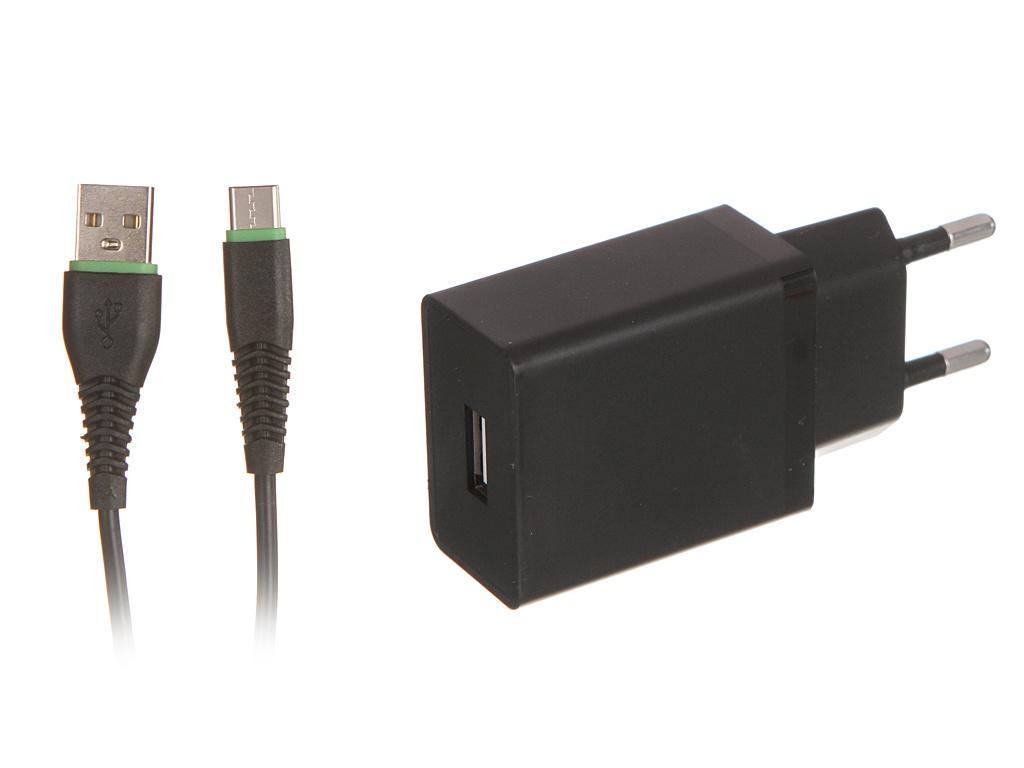 Зарядное устройство Maimi T13 1xUSB 2100mAh 5V + Cable USB Type-C Black