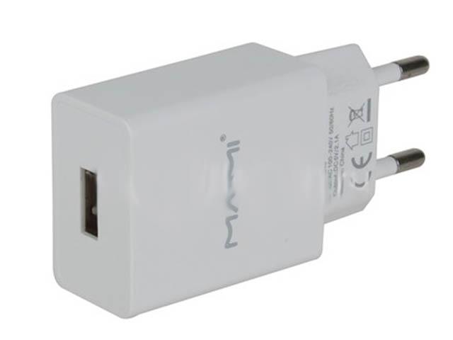 Зарядное устройство Maimi C43 1xUSB 2100mAh 5V White