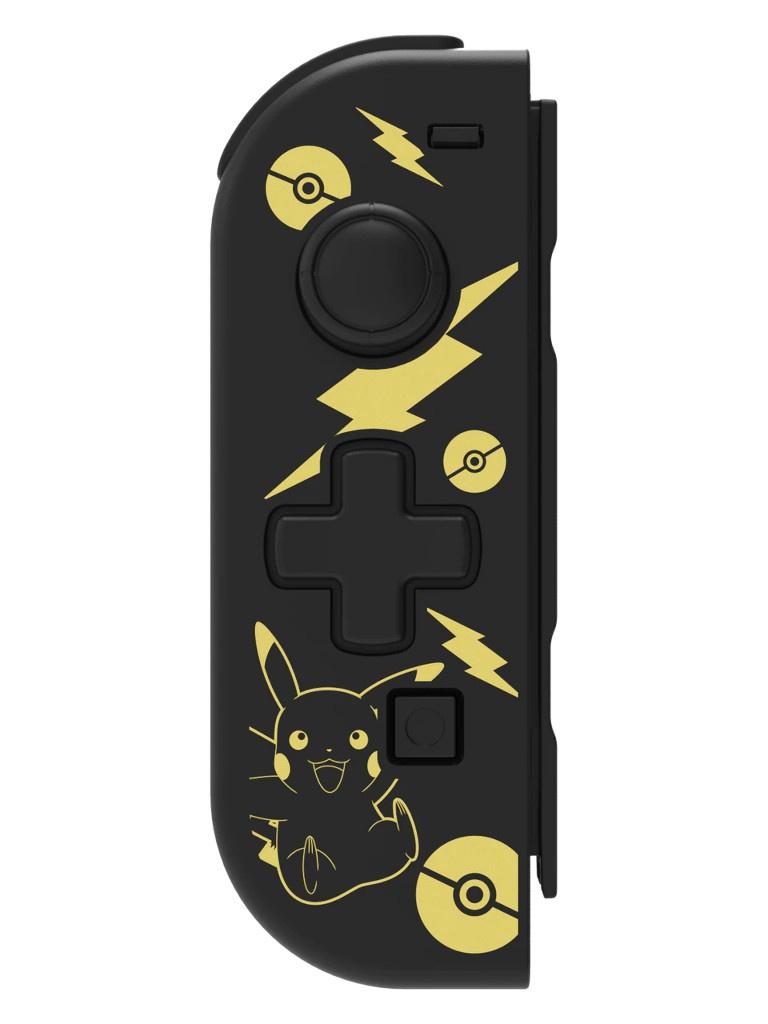 Hori Nintendo Joy-Con D-Pad Controller Pikachu Black Golden Edition NSW-297U для Switch