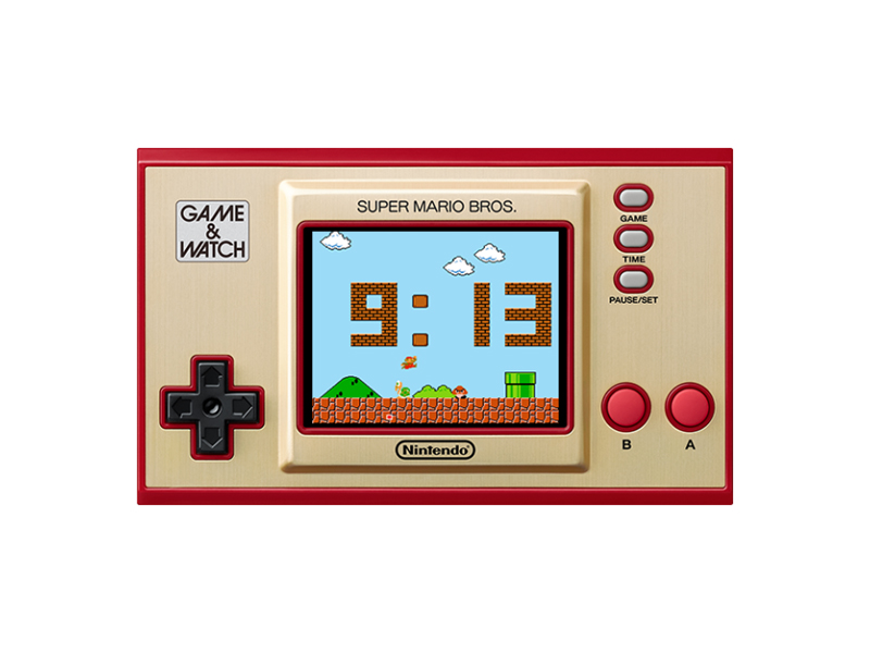 Игровая приставка Nintendo Game Watch Super Mario Bros