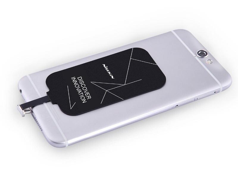 Адаптер беспроводной зарядки Nillkin для APPLE iPhone 5 / 5S / 6 / 7 Magic Tags Lightning 20328 адаптер беспроводной зарядки nillkin magic tags microusb 20330