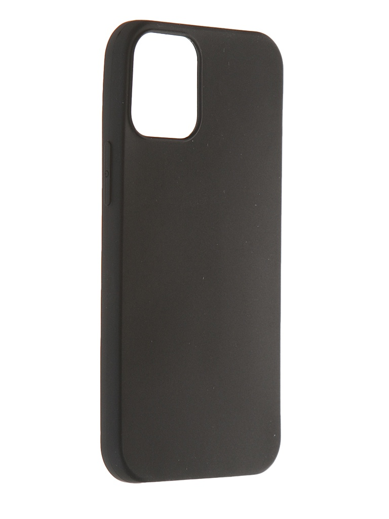 Чехол Innovation для APPLE iPhone 12 Mini Silicone Black 18050
