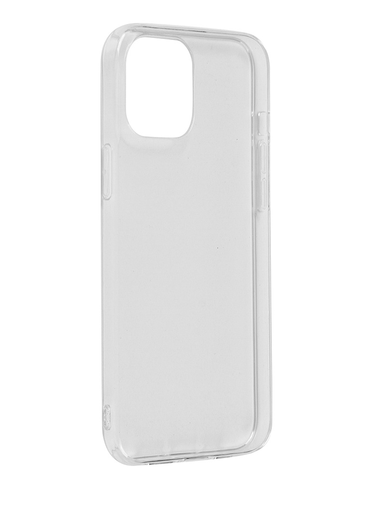 Чехол Innovation для APPLE iPhone 12 Pro Max Silicone Transparent 18055 аксессуар чехол накладка для micromax q383 innovation silicone 0 3mm transparent 12023