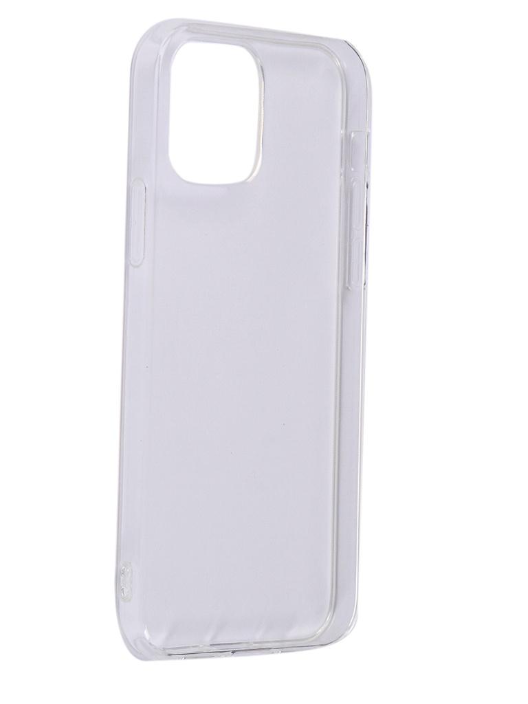 Чехол Innovation для APPLE iPhone 12/12 Pro Silicone Transparent 18054 аксессуар чехол накладка для micromax q383 innovation silicone 0 3mm transparent 12023