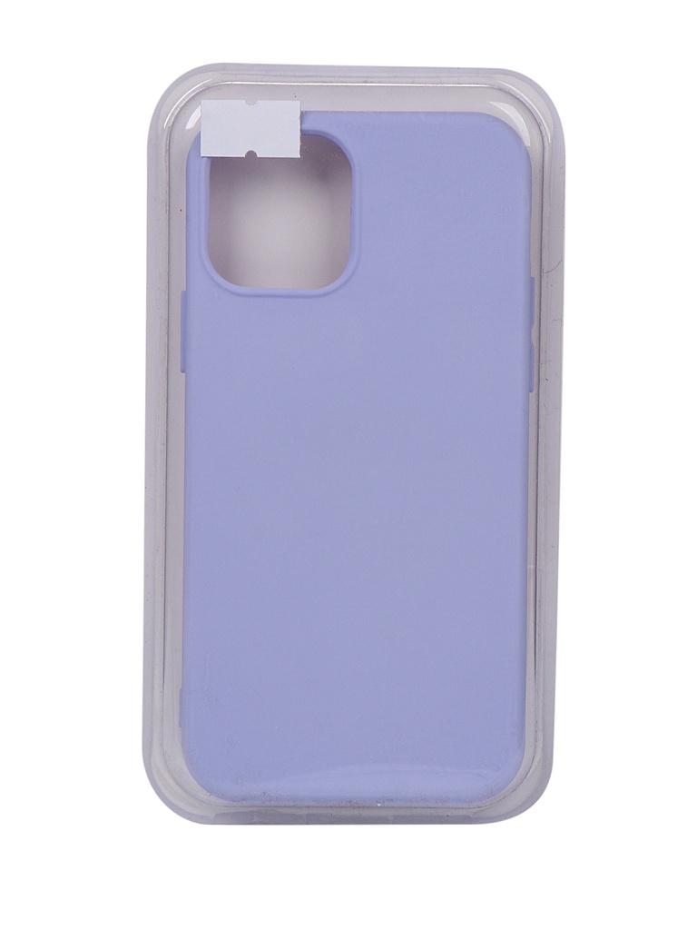 Чехол Innovation для APPLE iPhone 12 Pro / 12 Silicone Soft Inside Purple 18043 чехол innovation для apple iphone 12 pro 12 plus silicone soft inside black 18019