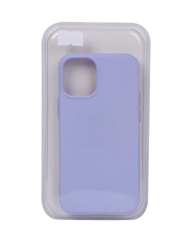 Чехол Innovation для APPLE iPhone 12 Mini Silicone Soft Inside Purple 18048