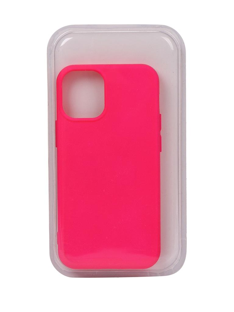 Чехол Innovation для APPLE iPhone 12 Mini Silicone Soft Inside Pink 18047