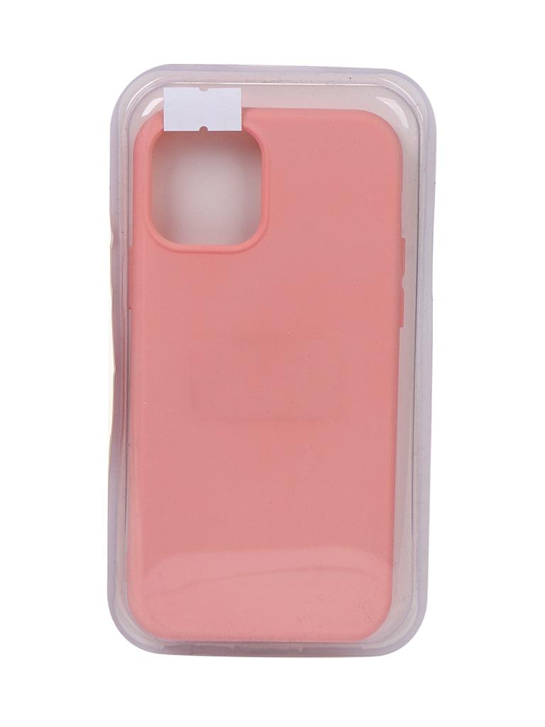 Чехол Innovation для APPLE iPhone 12 Pro / 12 Silicone Soft Inside Pink 18042 чехол innovation для apple iphone 12 pro 12 plus silicone soft inside black 18019