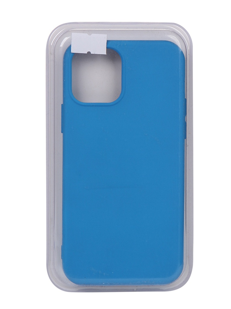 Чехол Innovation для APPLE iPhone 12 Pro / 12 Silicone Soft Inside Blue 18044 чехол innovation для apple iphone se 2020 silicone blue 17022