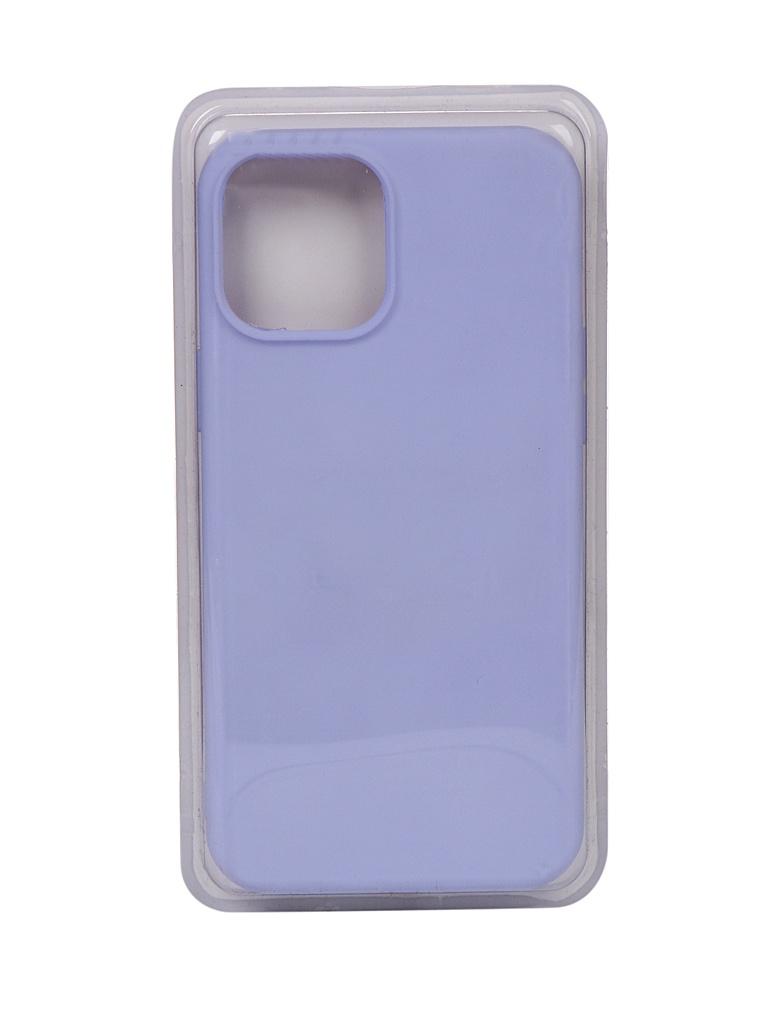 Чехол Innovation для APPLE iPhone 12 Pro Max Silicone Soft Inside Purple 18038