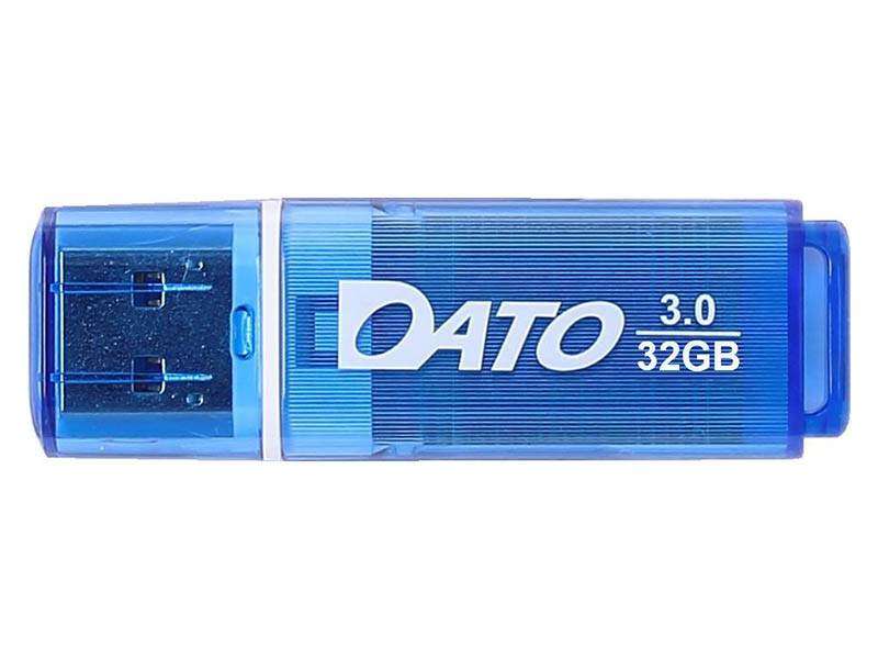 Фото - USB Flash Drive 32Gb - Dato DB8002U3 USB 3.0 Blue DB8002U3B-32G usb flash drive 32gb molti pebble universal usb 3 0 grey blue 15810 42