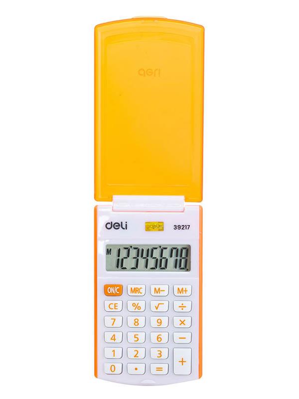 Калькулятор Deli E39217/OR