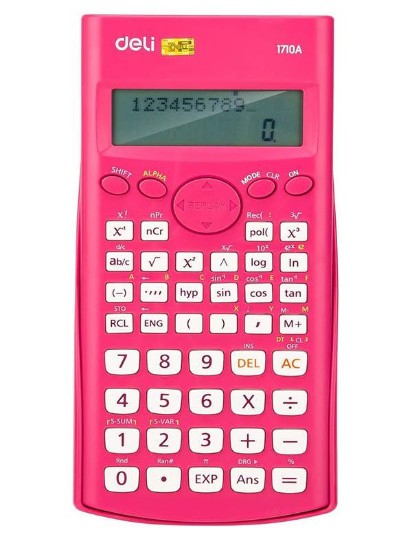 Калькулятор Deli E1710A/Red