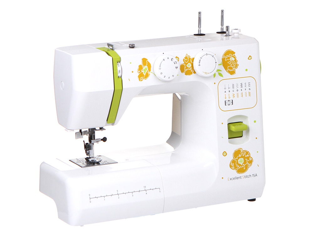 Швейная машинка Janome Excellent Stitch 15A White