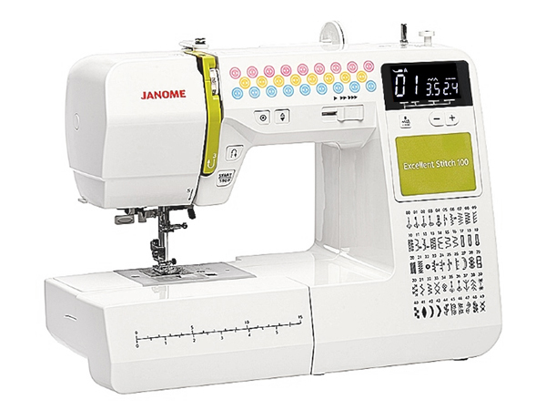 Швейная машинка Janome Excellent Stitch 100 White