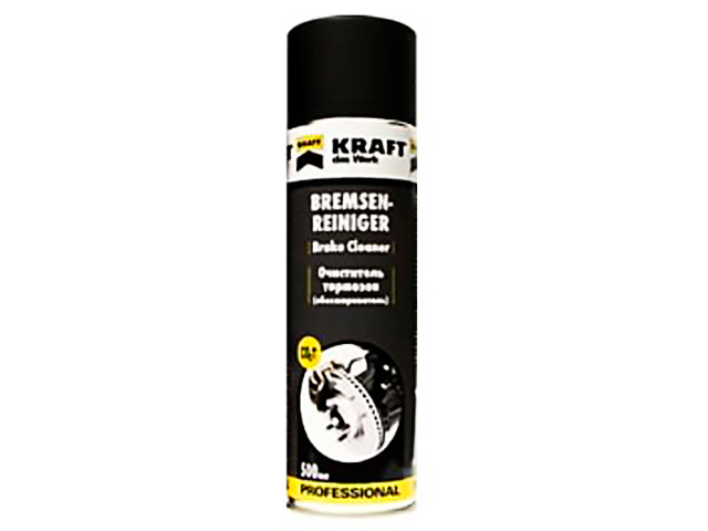 Очиститель тормозов Kraft 500ml KF005