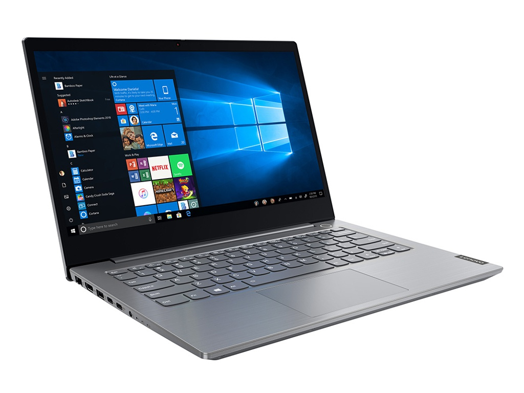Ноутбук Lenovo ThinkBook 14 20SL000NRU (Intel Core i5-1035G1 1.0 GHz/16384Mb/512Gb SSD/Intel UHD Graphics/Wi-Fi/Bluetooth/Cam/14.0/1920x1080/Windows 10 Pro 64-bit)