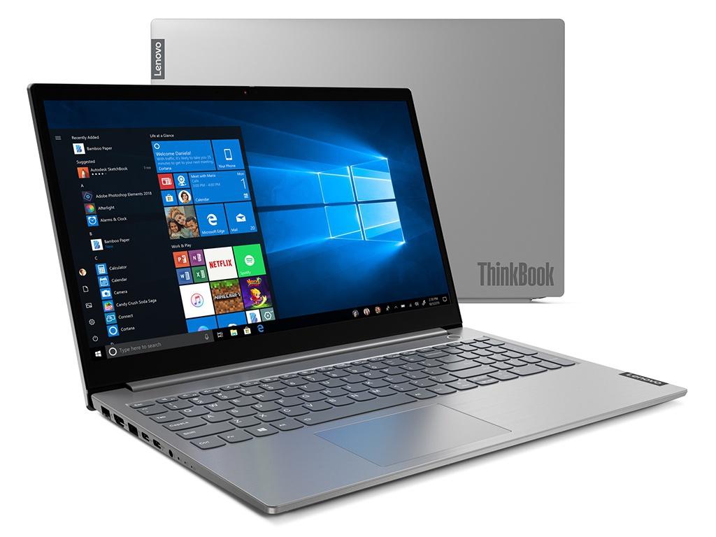 Ноутбук Lenovo ThinkBook 15 20SM003QRU (Intel Core i3-1005G1 1.2 GHz/4096Mb/1000Gb + 256Gb SSD/Intel UHD Graphics/Wi-Fi/Bluetooth/Cam/15.6/1920x1080/Windows 10 Pro 64-bit) ноутбук hp 15 dw0005ur intel core i3 8145u 2100 mhz 15 6 1366x768 8gb 256gb ssd no dvd intel uhd graphics 620 wi fi bluetooth windows 10