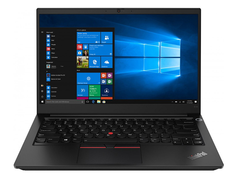 Ноутбук Lenovo ThinkPad E14 Gen 2 20T60039RT (AMD Ryzen 3 4300U 2.7 GHz/8192Mb/512Gb SSD/AMD Radeon Graphics/Wi-Fi/Bluetooth/Cam/14.0/1920x1080/Windows 10 Pro 64-bit)