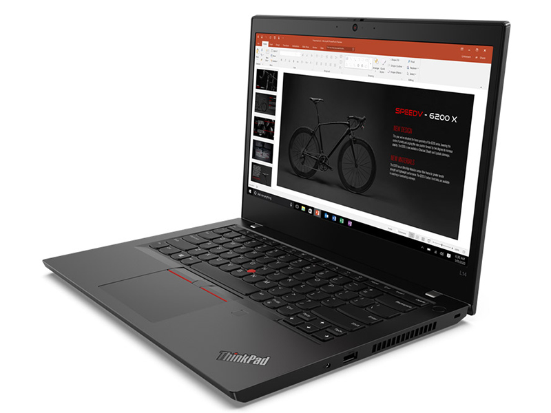 Ноутбук Lenovo ThinkPad L14 20U50004RT (AMD Ryzen 5 4500U 2.3 GHz/8192Mb/256Gb SSD/AMD Radeon Graphics/Wi-Fi/Bluetooth/LTE/Cam/14.0/1920x1080/Windows 10 Pro 64-bit)