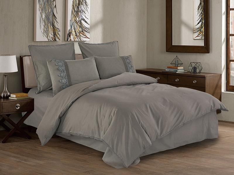 Постельное белье Cleo Cotton Lace 41/006-LE Комплект Дуэт Сатин